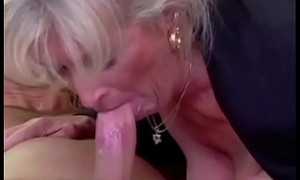 Honcho Granny Takes Young Dick