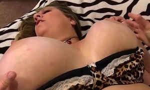 Fat Sweetie Winter Wolf Diddles Herself occasionally Sucks Cock plus Fucks