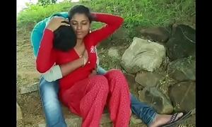 Desi team of two sex in farm