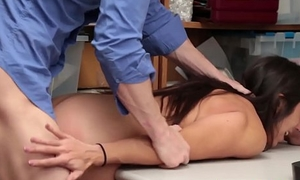 Sultry Young lady Lilly Hall Gets Banged By Officer