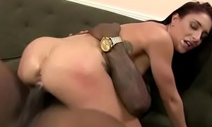 Teen fucked by a huge malignant flannel 15