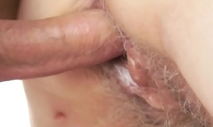 Seducing granny screwed in say no to hairypussy