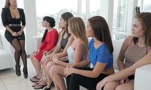 Dyked- Hot Teen Orgy Take Sexy Milf