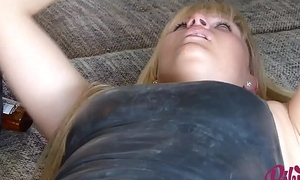 MyDirtyHobby &ndash_ Bibi gets filled up outdoors after solo action